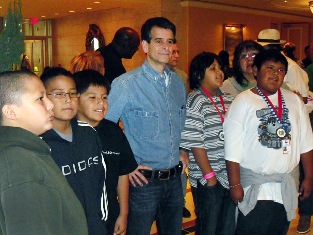 Arizona FLL team meets the founder of FIRST®