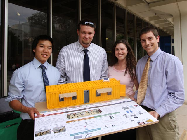Engineering students win support for entrepreneurial ventures