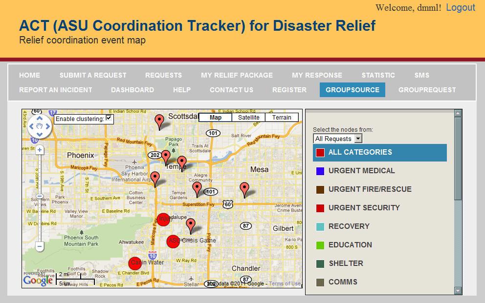 Crisis Response Game Screenshot