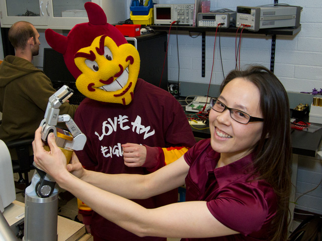 Robots on the rise: ASU researchers at the forefront