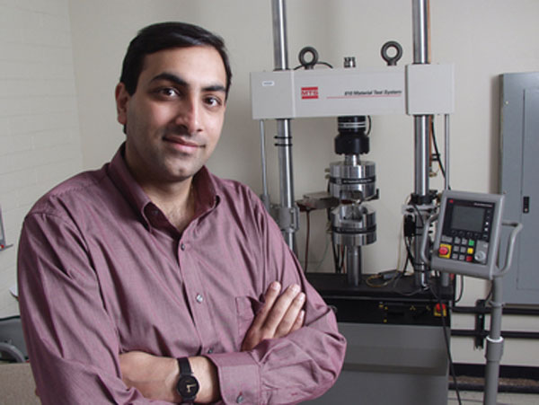 Nikhilesh Chawla named Fulton Professor of Materials Science and Engineering at ASU