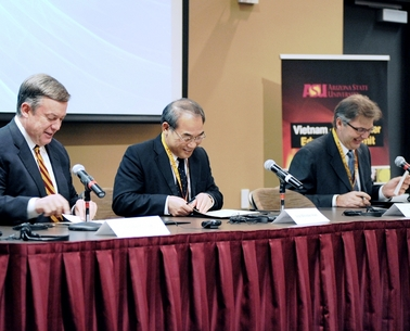 ASU, Intel help modernize higher education in Vietnam