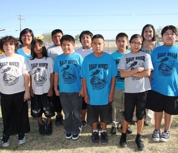 Members of the Titans team from Salt River Elementary School will travel to St. Louis to show their robotics skills at the FIRST LEGO League World Festival.