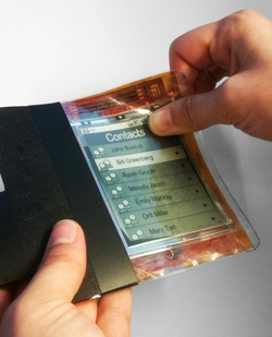 ASU engineers have contributed to development of a prototype of the Paperphone, a potentially major advance in interactive, mobile computing and flexible technology.