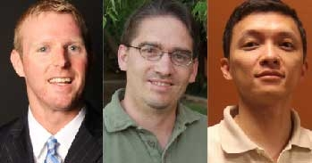 David Frakes, Brent Vernon and Xiao Wang are faculty members in the School of Biological and Health Systems Engineering.