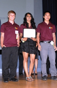 Students win national health data challenge awards