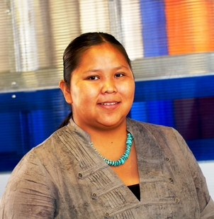 Chemical engineering student Letisha Yazzie is the new president of the ASU chapter of the American Indian Science and Engineering Society.
