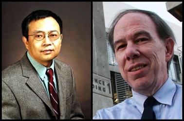 ASU engineering faculty members Nongjian Tao and Bruce Towe