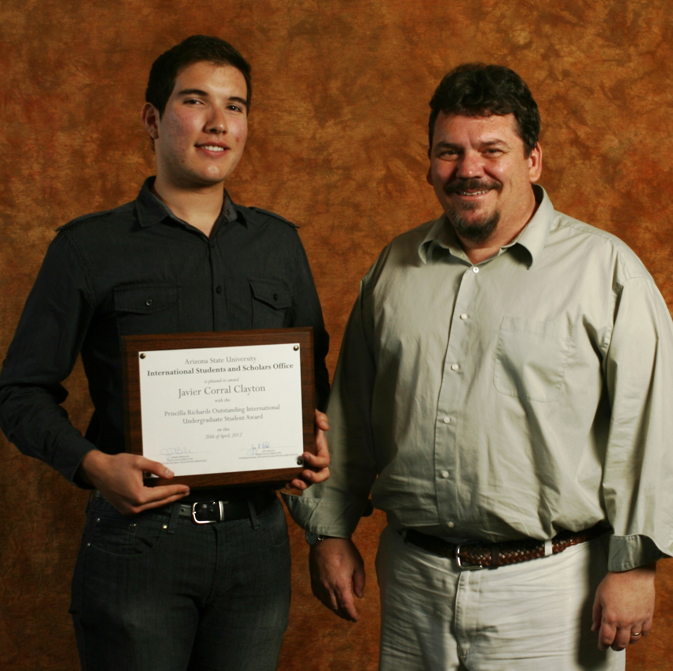 Engineering major is ASU's international undergrad of the year