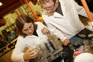 Putting chemical power to the test