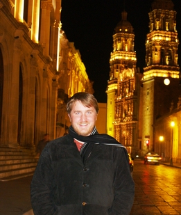 Zachary Pirtle is pictured in Zacatecas, Mexico in 2009. With support from a prestigious Fulbright scholarship he studied there and participated in public discourse on the cultural impact that the emergence of nanotechnology could have on that country.