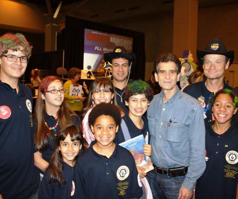 Ariz. middle-schoolers earn research award at international tech fest