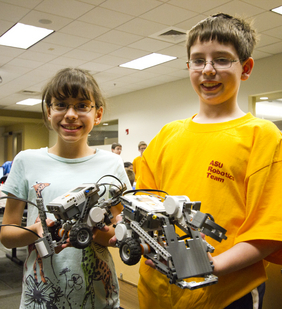 Summer robotics camps immerse young students in engineering challenges