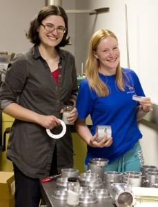 Amy Kaczmarowski and Emily McBryan
