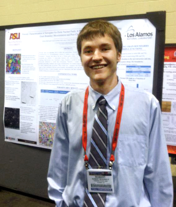 Student awarded for work to help develop sustainable nuclear energy technologies