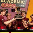 A team of five ASU engineering students wins a nail-biting final round to capture the 2012 ASU Academic Bowl Championship.