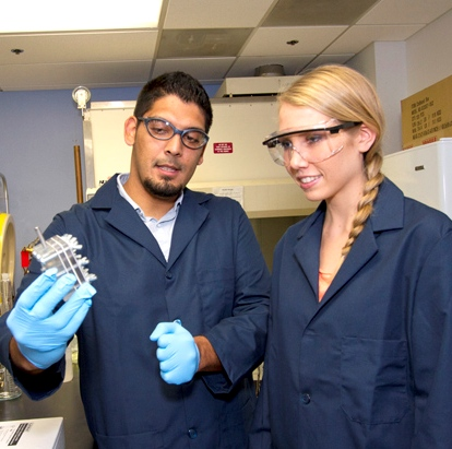 Torres wins national group's award for leading young Hispanic researcher