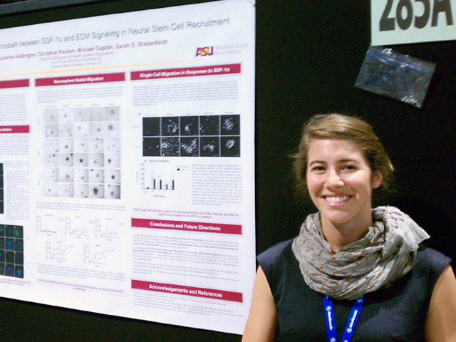 Engineering students' research in spotlight at major biomedical conferences