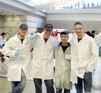 ASU team finishes among leaders in Chem-E-Car championship