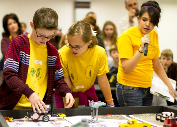 Cooperative competition energizing young students to learn engineering, science