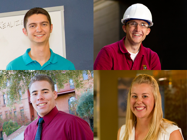 Perseverance plus time management pays off for top engineering students