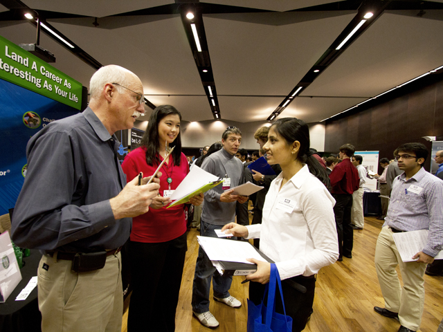 Engineering Career Fair blossoming into bigger event