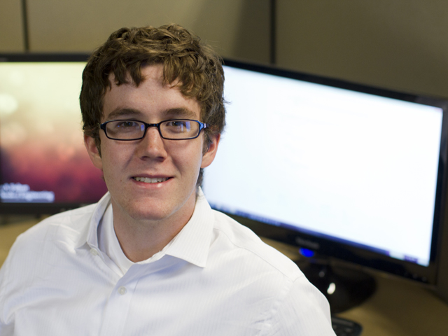 Computer science major two-time winner at popular technology competition