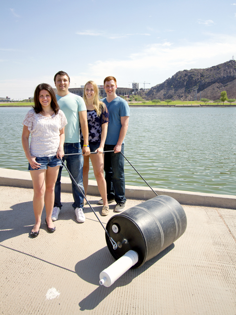Engineering students' entrepreneurship ventures featured at Arizona Science Center