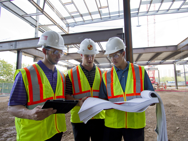 Construction students among top performers at major competition