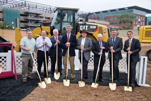 Construction starts on new home for Del E. Webb School of Construction program