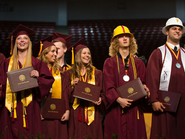 Spring 2013 Outstanding and Distinguished ASU Engineering Graduates