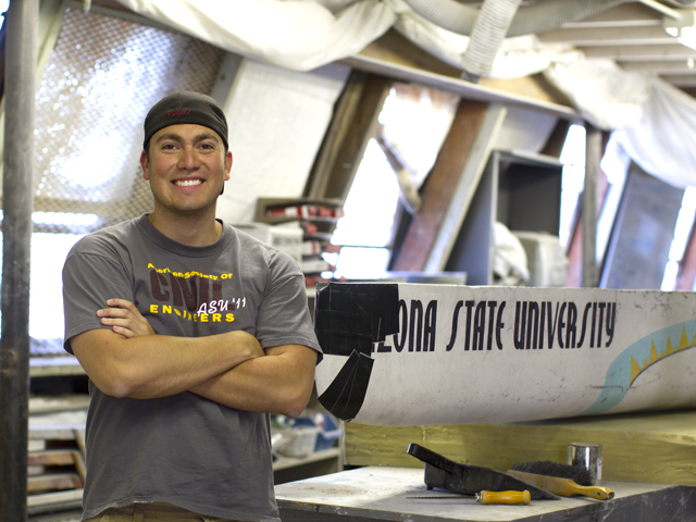 Determination overcame detours on Ponce's path to engineering degree