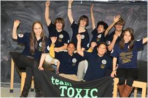 Arizona FLL team wins at Edison Awards