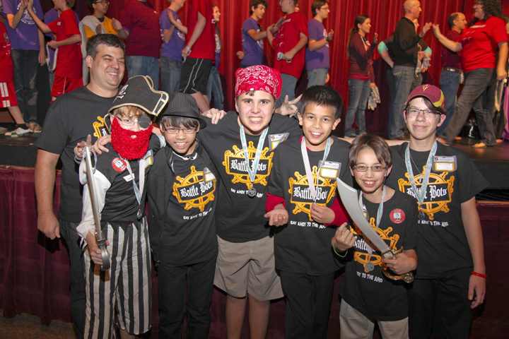 Battle Bots AZ FLL team