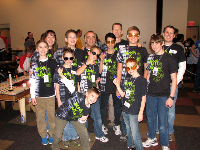 Block of Ages AZ FLL team