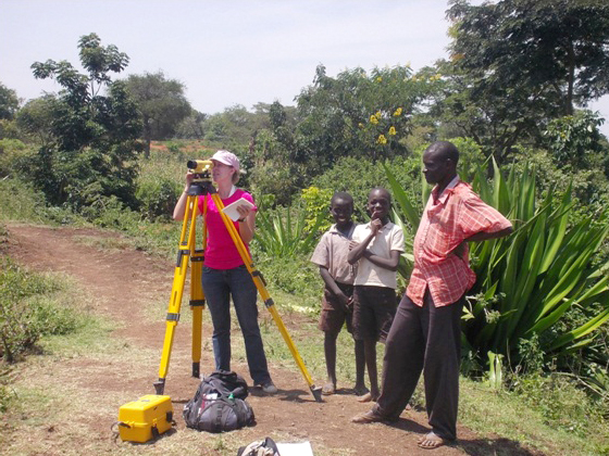 Engineering students helping to sustain African villages