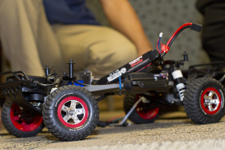 Robotic toy car drives engineering students' education business venture