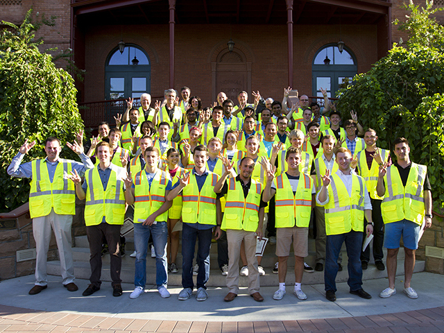 """New tradition shows students, industry and construction school are """"vested"""" in each other"""