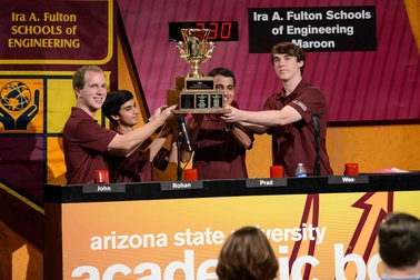 Ira A. Fulton Schools of Engineering wins ASU Academic Bowl