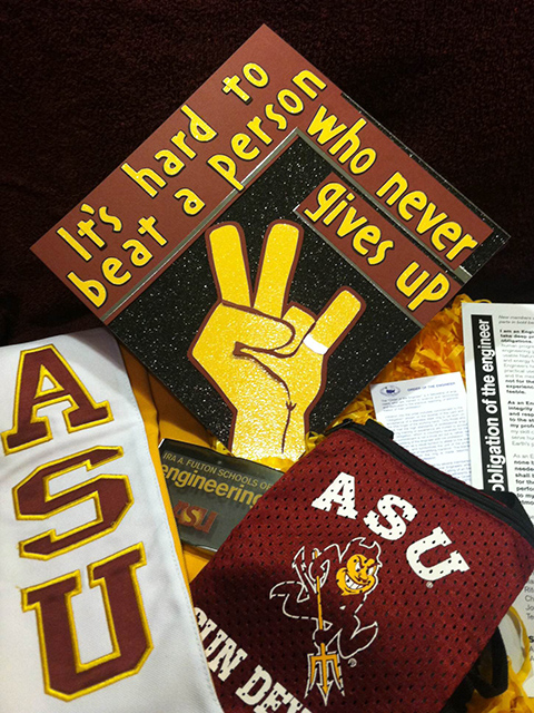 Fall 2013 Outstanding and Distinguished ASU Engineering Graduates