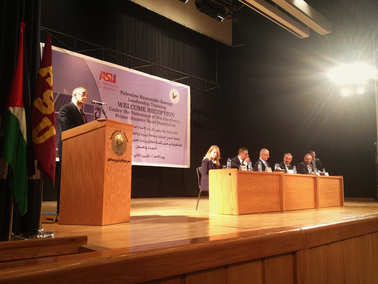 Palestinian prime minister greets ASU leaders at training program launch