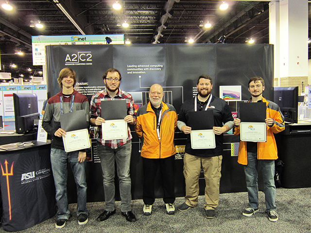 ASU students bring home award from international supercomputing competition