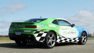 Students in the EcoCAR 3 competition will be working on the Chevrolet Camero.