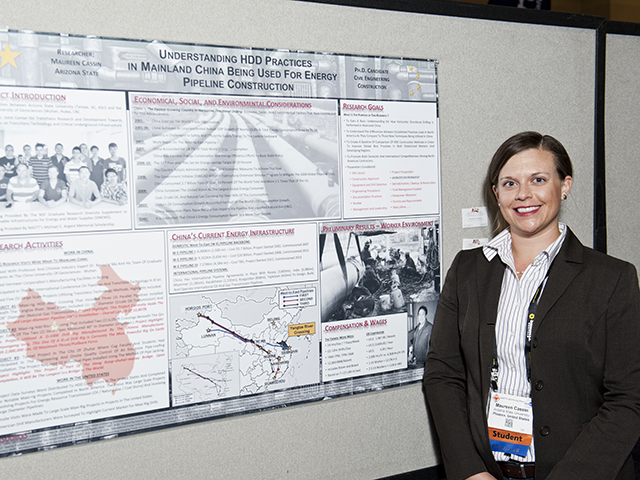 ASU engineering students shine at construction industry conference