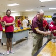 The aviation program on ASU's Polytechnic campus hosts young students enrolled in the Aviation Career Education (ACE) Academy, sponsored by the Archer Ragsdale Arizona Chapter of the Tuskegee Airmen