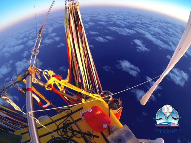 Two Eagles transoceanic balloon trek has Fulton engineering connection