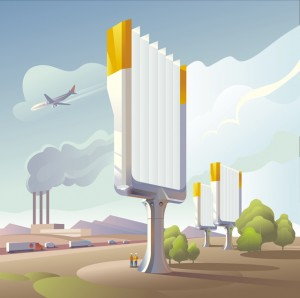 CNCE aims to achieve net-zero emissions through technology such as air capture of carbon dioxide