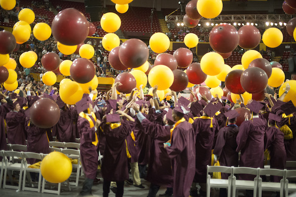 ASU Fulton Schools graduate first online engineering management students