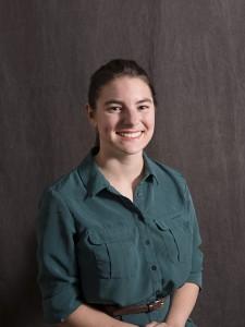 Distinguished undergraduate Alyssa Oberman