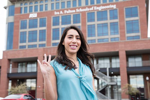 Luz Osuna: Reaching forward, giving back